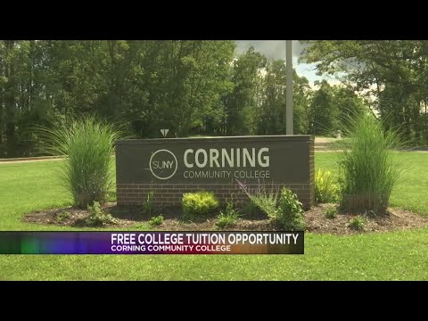 Local college award helps students attend Corning Community College at no cost