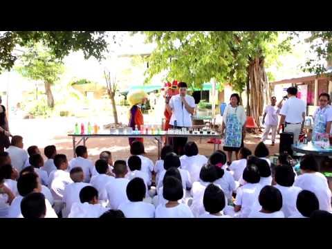 โครงการเด็กไทยฟันดี สิงห์บุรีอ่อนหวาน โรงเรียนวัดถอนสมอ