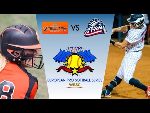 Netherlands vs USSSA Pride - European Pro Softball Series - Game 6
