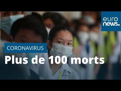 Coronavirus chinois: plus de 100 morts, un premier cas en Allemagne, des évacuations se préparent