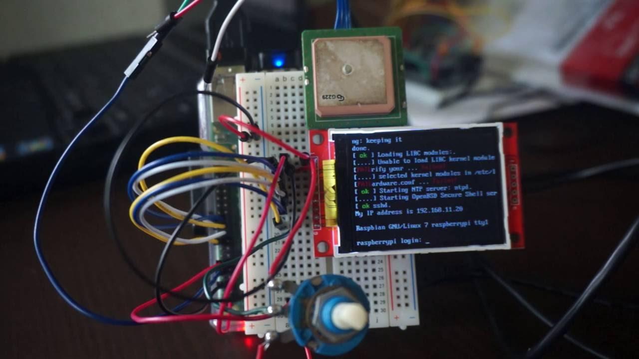 Raspberry Pi B+ & 2 2inch SPI TFT LCD Display