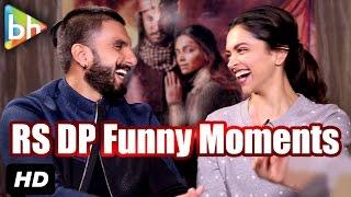 Bajirao Mastani Stars Ranveer Singh | Deepika Padukone's Funny Moments