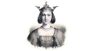 Изабелла Баварская (1370-1435) - королева Франции, жена Карла 6 Безумного.