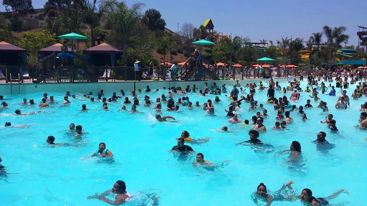 Aquatica wave pool youtube for Pool show san antonio
