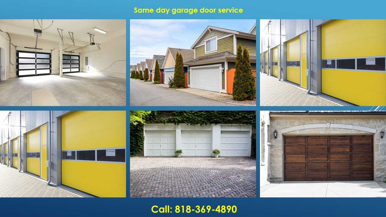 garage door repair san fernando valley ca 818 369 4890