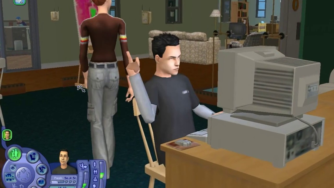 Скачать игру на компьютер симс 2 университет