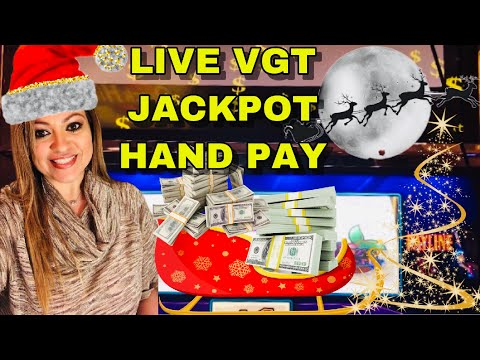 VGT JACKPOT HAND PAY CAUGHT LIVE ON 🍒CRAZY CHERRY🍒 🎅🏼🎄MERRY CHRISTMAS TO ME!🎄🎅🏼