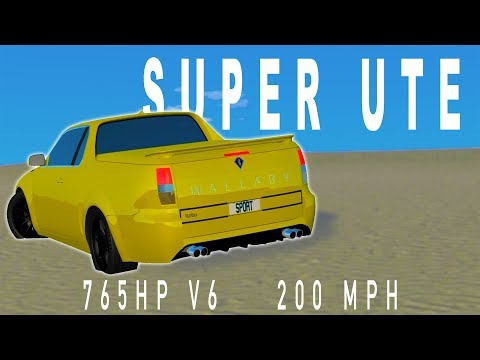765 HP Super Ute | Automation / BeamNG