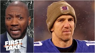 Eli Manning should retire after this season - Ryan Clark | First Take