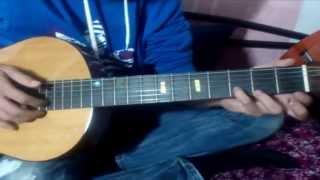 Разбор на гитаре песни Агаты Кристи- Я на тебе как на войне(бас,вступление,проигрыш,куплет)