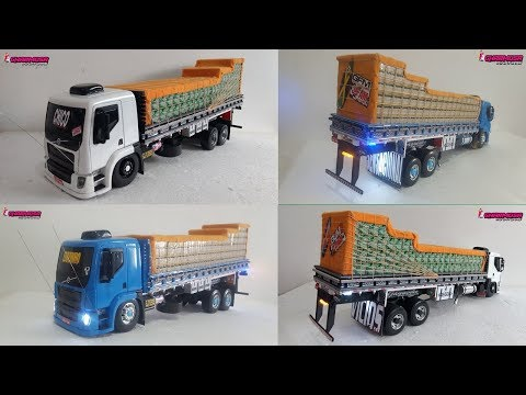 ENCOMENDAS: Miniatura Caminhão VM Truck Carroceria