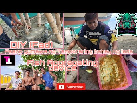 Fish Aggregating Device(FAD)Diy