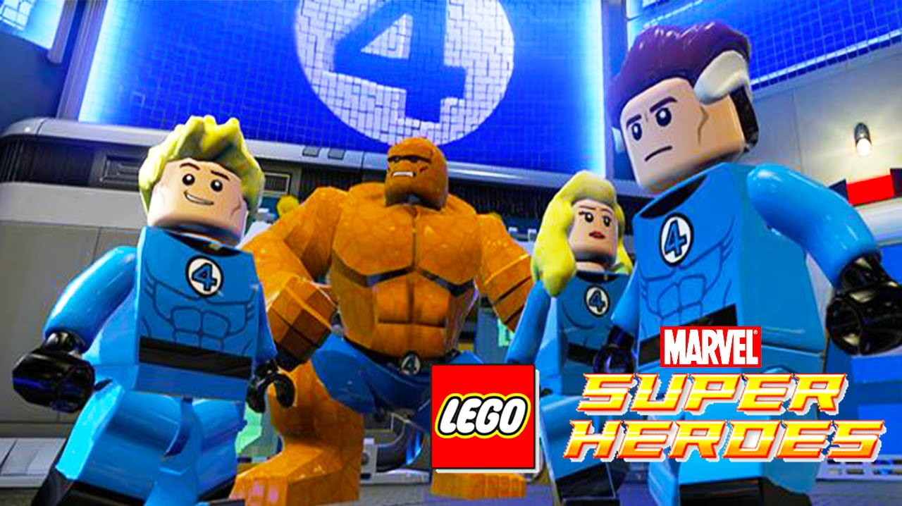 THE FANTASTIC FOUR LEGO Marvel Super Heroes | Games Lego Videos for Kids