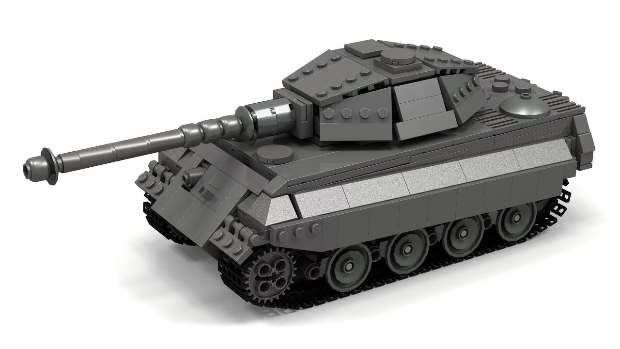 Lego Wwii King Tigertiger Ii Instructions Youtube