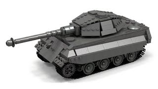 Lego WWII King Tiger/Tiger II Instructions