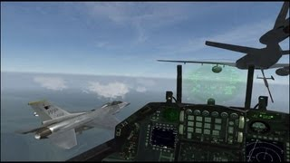 F16 FALCON BMS vs FREE FALCON 5.5.5 HD
