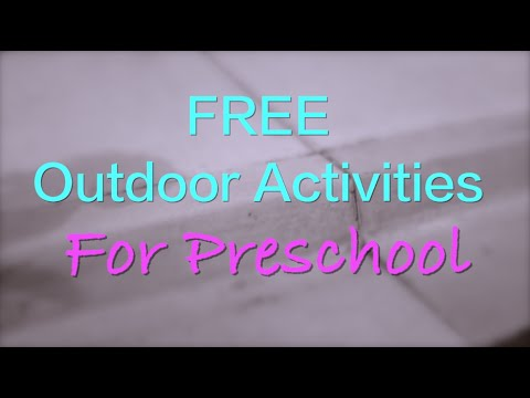 Outdoor Preschool Activity Ideas for Active Play