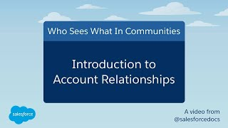 Who Sees What in Communities: An Intro To Account Relationships