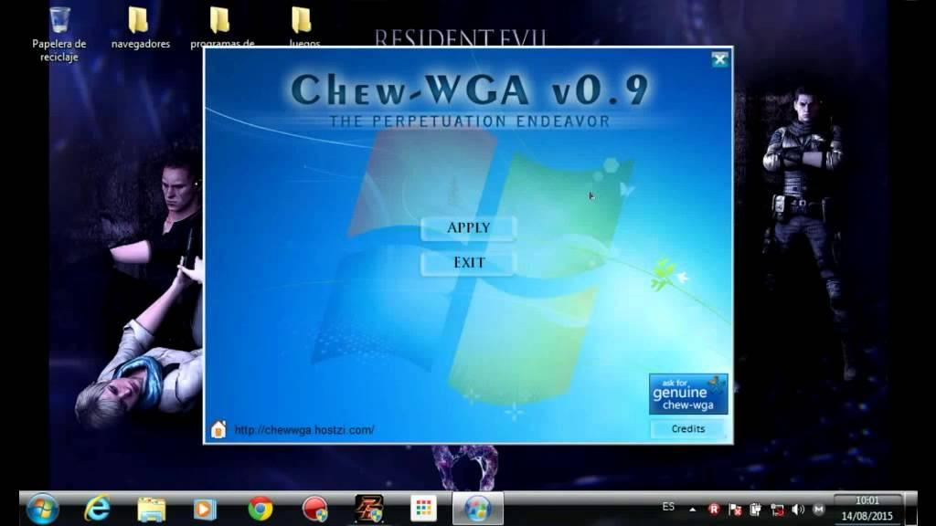 activador windows 7 chew-wga 0.9
