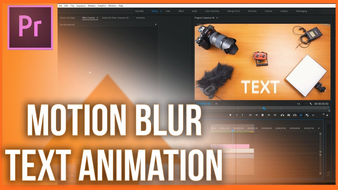 How to add motion blur