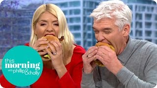 Phil Vickery's Christmas Dinner in a Burger | This Morning