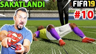 ALEX HUNTER SAKATLANDI! | FIFA 19 YOLCULUK MODU #10
