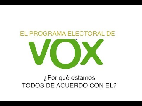 Programa vox