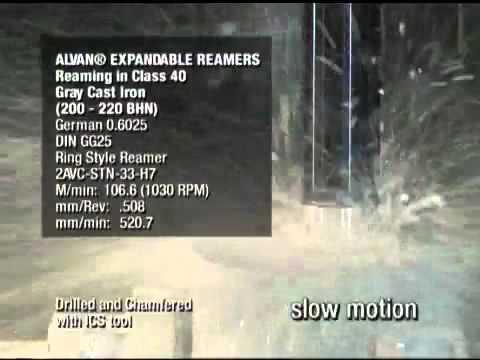 SCAMI - Escariado de fundición gris clase 40