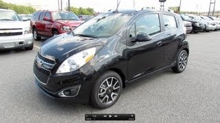 2013 Chevrolet Spark 2LT Start Up, Exhaust, and In Depth Review