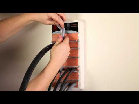 How to install a new cable through a MCT Brattberg cable transit
