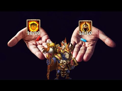 Walla Walla | 10 Flame Guard | 10 Wargod | Castle Clash