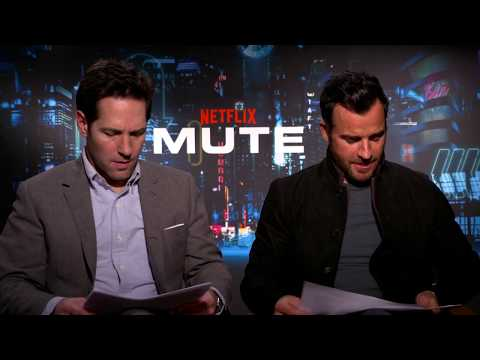 Justin Theroux and Paul Rudd unplugged talking about 'MUTE' & more