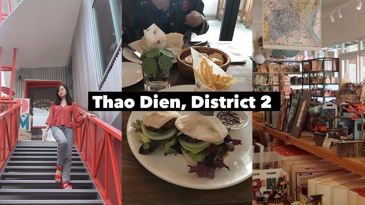 Vlog: Exploring Expat Area of District 2 Saigon (HCMC, Vietnam) | Districts of Saigon