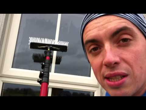 How to water fed pole perfect. Window cleaning