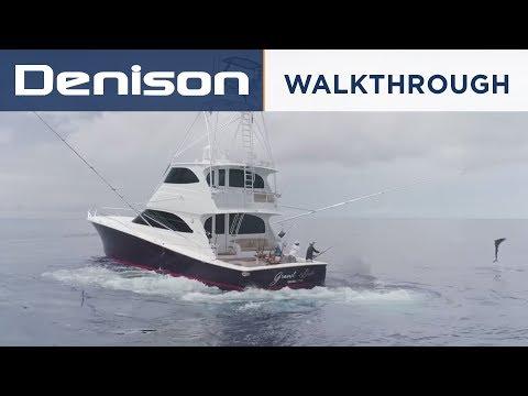 GRAND DUKE: 70 Viking Enclosed Bridge [Walkthrough]