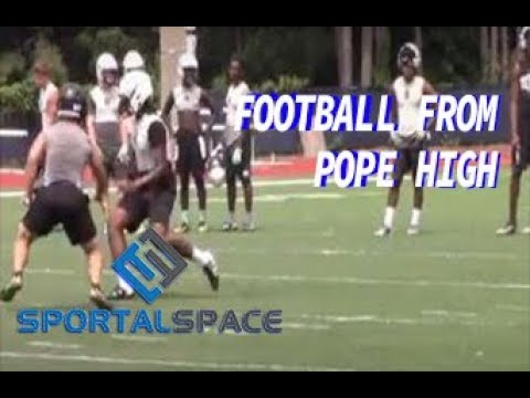 Football Scrimmage - Pope High School
