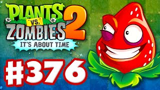 Plants vs. Zombies 2: It's About Time - Gameplay Walkthrough Part 376 - Strawburst! (iOS)