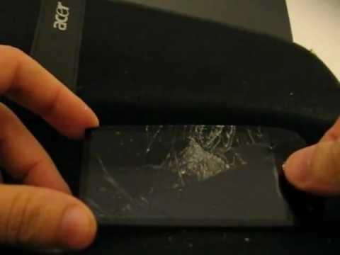 Nokia 701 DTV - Teste da tela com tratamento Gorilla Glass - BR