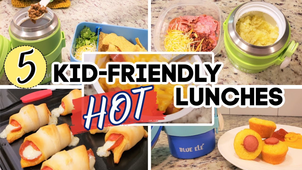 HOT LUNCH IDEAS FOR KIDS | BACK TO SCHOOL LUNCH IDEAS