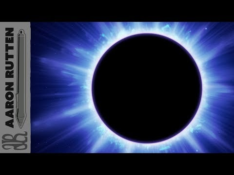 Solar Eclipse 2017 (Digital Art Speed Paint)