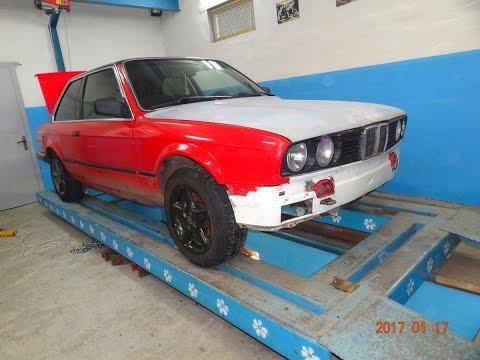BMW E30.   Вытяжка морды.