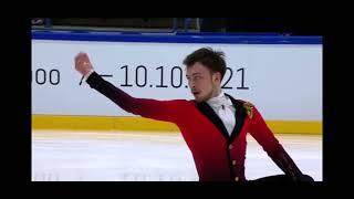 Дмитрий Алиев Произвольная программа Finlandia Trophy 2021
