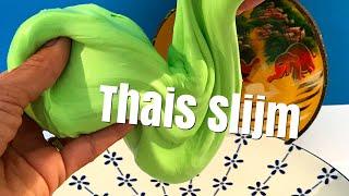 Slijm maken met Thaise ingrediënten