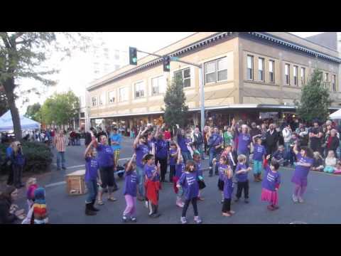 Olympia Community School FLASH MOB!