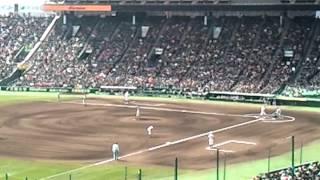 2012年選抜準々決勝 対横浜戦.