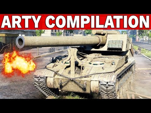 ARTY COMPILATION - World of Tanks
