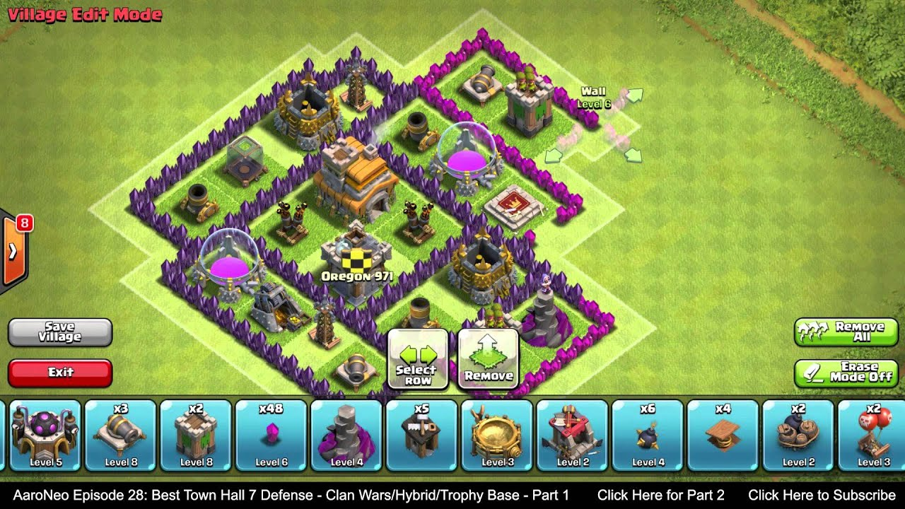 BEST Town Hall Level 7 (TH7) Defense Strategy - Clan Wars ...