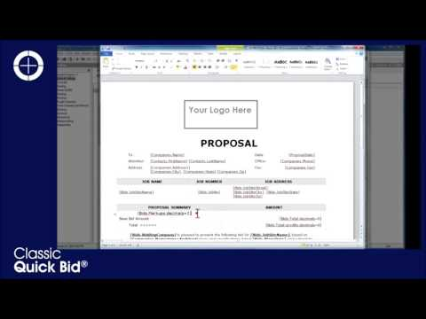Quick Bid  Proposals  Quotations - YouTube - bid proposals