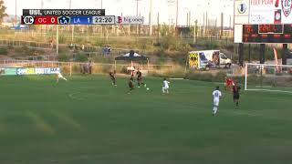 GOAL: Frank Lopez with a quick finish to double the Los Dos lead