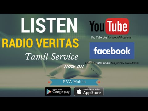 Radio Veritas Tamil | Now on Facebook & You Tube Live